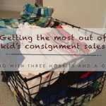 Consignment Sale shopping tips!